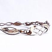 Украшения handmade. Livemaster - original item the crown braided. Handmade.