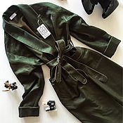 Одежда ручной работы. Ярмарка Мастеров - ручная работа Тренч в стиле халата. Handmade.