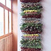 Русский стиль ручной работы. Ярмарка Мастеров - ручная работа Дорожка из трав с самшитом и лавандой. Handmade.