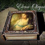 Для дома и интерьера ручной работы. Ярмарка Мастеров - ручная работа шкатулка книга Наталья. Handmade.