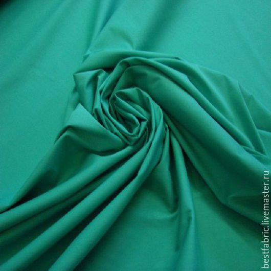 блузочно-плательная (сорочечная) ткань сток Versace, Италия вискоза + х/б + эл шир. 146 см  , 1п/м = 200 гр цена 770 р, цвет зеленый Крайола тонкая, маломнущаяся, шелковистая, матовая , пластична
