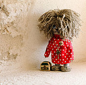 Куклы и игрушки ручной работы. Ярмарка Мастеров - ручная работа Домовенок Кузя.. Handmade.