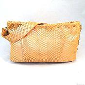 Сумки и аксессуары handmade. Livemaster - original item Bag gold leather