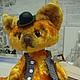 Мишки Тедди ручной работы. Ярмарка Мастеров - ручная работа. Купить Лис Ватсон. Handmade. Оранжевый, кукла ручной работы