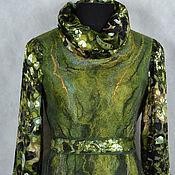 """Одежда ручной работы. Ярмарка Мастеров - ручная работа платье валяное """"Тайны ночного леса"""". Handmade."""