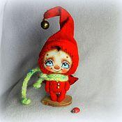 Куклы и игрушки ручной работы. Ярмарка Мастеров - ручная работа Снотворец лета в зимнюю пору))). Handmade.