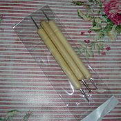 Материалы для творчества handmade. Livemaster - original item stacks to work with clay and plastic. Handmade.