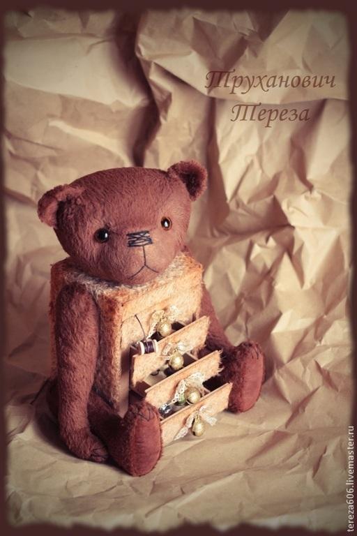 Мишки Тедди ручной работы. Ярмарка Мастеров - ручная работа. Купить Комодик Тедди. Handmade. Мишка ручной работы, комод