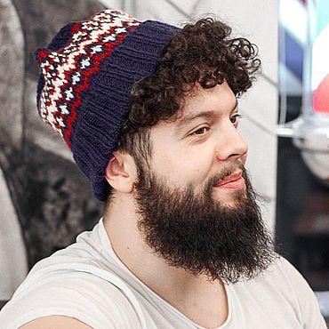 Одежда ручной работы. Ярмарка Мастеров - ручная работа Вязаная шапка. Handmade.