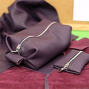 Сумки и аксессуары handmade. Livemaster - original item Kit - Cosmetic - bag - organizer & housekeeper. Handmade.