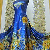 """Одежда ручной работы. Ярмарка Мастеров - ручная работа Авторское платье """"Золотые цветы"""". Handmade."""