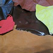 Материалы для творчества ручной работы. Ярмарка Мастеров - ручная работа вЕСОВОЙ НАБОР НАТУРАЛЬНАЯ КОЖА 303. Handmade.