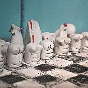 Сувениры и подарки handmade. Livemaster - original item Copy of Chess. Handmade.