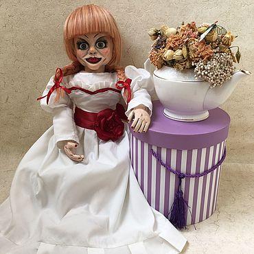 Куклы и игрушки ручной работы. Ярмарка Мастеров - ручная работа Кукла Аннабель. Handmade.