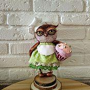 Куклы и игрушки ручной работы. Ярмарка Мастеров - ручная работа Сова-кондитер. Handmade.