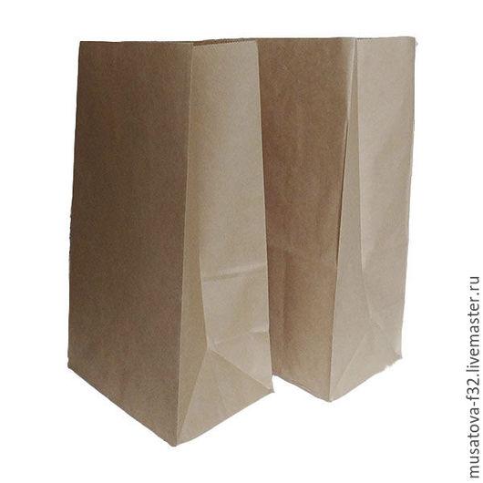 Упаковка ручной работы. Ярмарка Мастеров - ручная работа. Купить Крафт пакеты без ручек 2 вида. Handmade. Бежевый