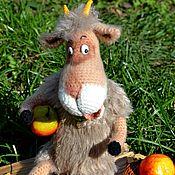 Куклы и игрушки ручной работы. Ярмарка Мастеров - ручная работа Коза -дереза. Handmade.