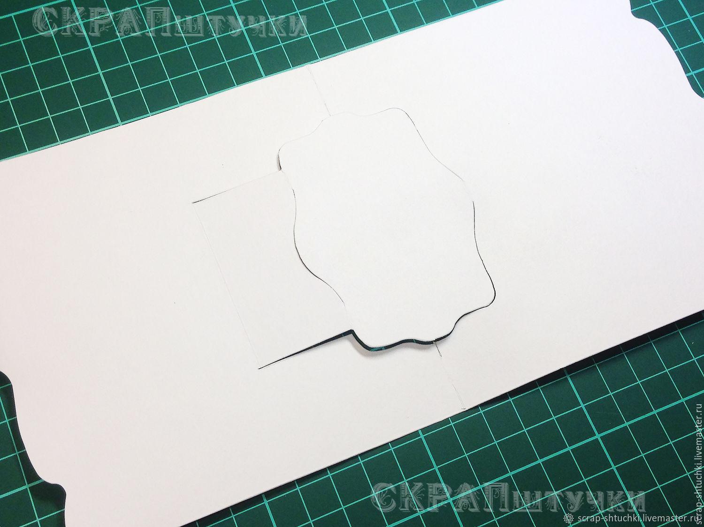 Заготовка для открытки размеры