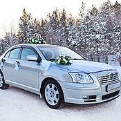 Свадебный салон ручной работы. Ярмарка Мастеров - ручная работа зимнее украшение на авто. Handmade.