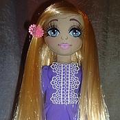 """Куклы и игрушки ручной работы. Ярмарка Мастеров - ручная работа Текстильная кукла """"Алиана"""". Handmade."""