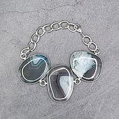 Украшения handmade. Livemaster - original item Bracelet natural stone agate. Handmade.