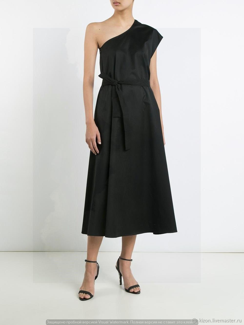 039cc713172 Платья ручной работы. Ярмарка Мастеров - ручная работа. Купить Платье  вечернее черное 237В.