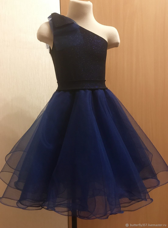 Платье «ночная фиалка». Отложено