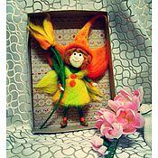 Куклы и игрушки ручной работы. Ярмарка Мастеров - ручная работа Эльф цветочный. Handmade.