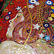 Символизм ручной работы. Девушка, копия картины Г. Климта, фрагмент, мозаика. Мозаика&роспись (mosaicdecor). Интернет-магазин Ярмарка Мастеров.