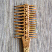 Сувениры и подарки handmade. Livemaster - original item A large wooden comb. Comb. Scallop. Gift on March 8. Handmade.