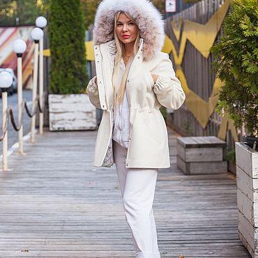 Одежда ручной работы. Ярмарка Мастеров - ручная работа Пальто с рысью. Handmade.