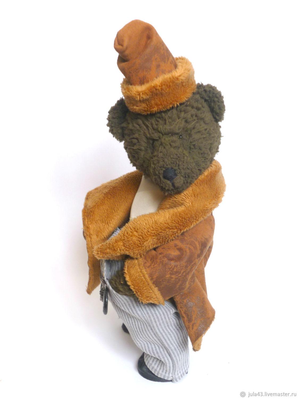 Михась, вязаный медведь, Мягкие игрушки, Екатеринбург,  Фото №1
