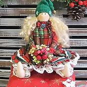 Куклы и игрушки ручной работы. Ярмарка Мастеров - ручная работа Принцесса на горошине Гномочка. Handmade.