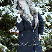 Одежда handmade. Livemaster - original item Park with fur womens. Handmade.