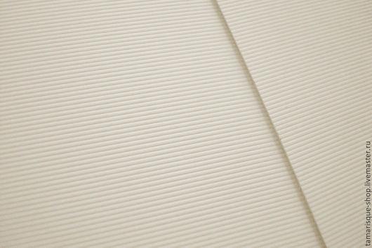 Открытки и скрапбукинг ручной работы. Ярмарка Мастеров - ручная работа. Купить Дизайнерская бумага «Вельвет» 300 гр слоновая кость. Handmade.