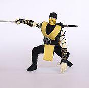 Куклы и игрушки ручной работы. Ярмарка Мастеров - ручная работа Scorpion Mortal Kombat. Handmade.