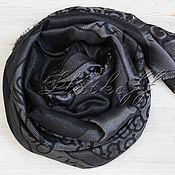 Аксессуары handmade. Livemaster - original item Burberry London England black shawl. Handmade.