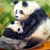 """Классическая сумка ручной работы. Ярмарка Мастеров - ручная работа Валяная сумка """"Мамино счастье"""". Handmade."""