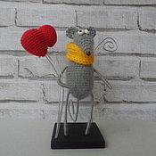 Приколы ручной работы. Ярмарка Мастеров - ручная работа Мышь с шариками. Handmade.
