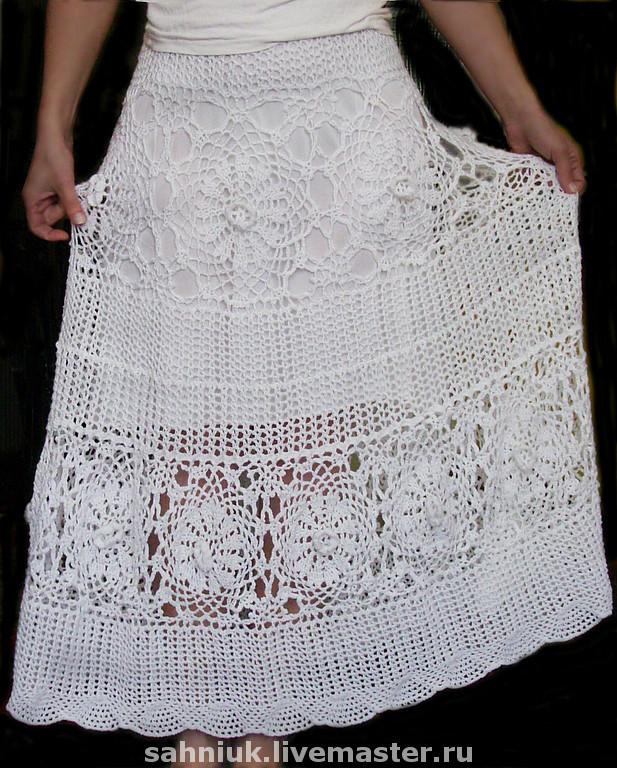 Ярмарка мастер класс юбка спицами фото #11