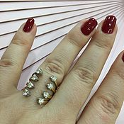 Украшения ручной работы. Ярмарка Мастеров - ручная работа Lady Chloe. Золотое кольцо с бриллиантами. Handmade.