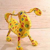 Куклы и игрушки ручной работы. Ярмарка Мастеров - ручная работа Звездная малышка такса :). Handmade.