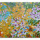 """Картины цветов ручной работы. """"Summer bloom"""" 100х70 см большая картина маслом мастихином. SLEEPWALKERS. Интернет-магазин Ярмарка Мастеров."""