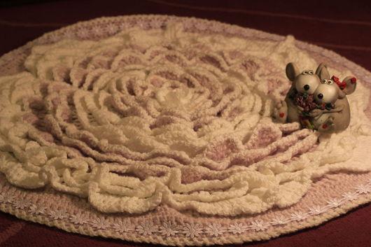 Работа Ирины Леоновой. Купить  коврик  ручной работы