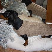 Одежда для питомцев ручной работы. Ярмарка Мастеров - ручная работа Свитера для собак. Handmade.