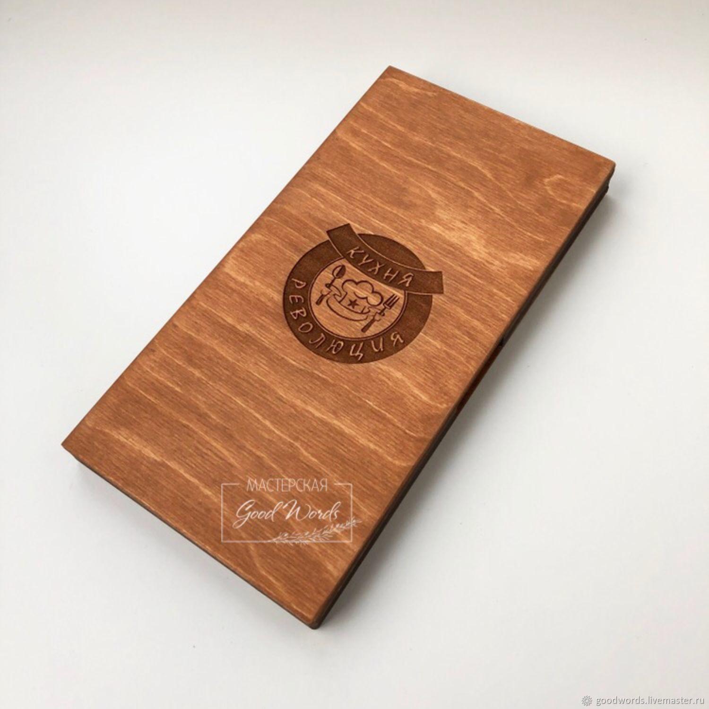 Wooden box-book under the bill, Paraphernalia, Zheleznodorozhny,  Фото №1