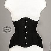 """Одежда ручной работы. Ярмарка Мастеров - ручная работа Корсет """"Идеальный силуэт"""" черный. Handmade."""