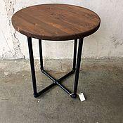 Столы ручной работы. Ярмарка Мастеров - ручная работа кофейный столик - ЛОФТ. Handmade.