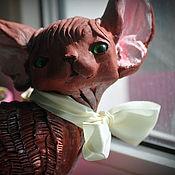 Сувениры и подарки handmade. Livemaster - original item Almonds. Cat Devon Rex. Handmade.