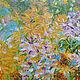 """Картины цветов ручной работы. """"Summer bloom"""" 100х70 см большая картина маслом мастихином. SLEEPWALKERS. Ярмарка Мастеров. Природа"""